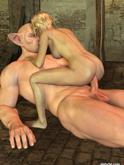 Cute sex anime doll fucked in all her holes - Cartoon Sex - Picture 8