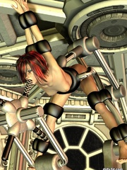 Amazing 3D BDSM cartoons with tight ass babe - Cartoon Sex - Picture 6