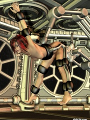 Amazing 3D BDSM cartoons with tight ass babe - Cartoon Sex - Picture 9
