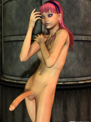 Wild porn cartoons with gorgeous shemale with - Cartoon Sex - Picture 2