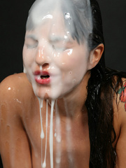 Naughty slut likes many facials and cum swallow - XXXonXXX - Pic 12