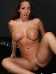 Busty brunette with perfect tits gets a horse cum - XXXonXXX - Pic 4