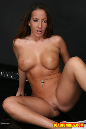 Busty brunette with perfect tits gets a horse cum load on her ace - XXXonXXX - Pic 4