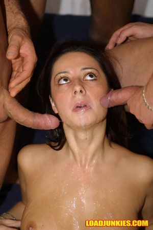 Sexy young girl can't imagine a day without some facial sex - XXXonXXX - Pic 7