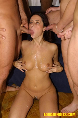 Sexy young girl can't imagine a day without some facial sex - XXXonXXX - Pic 9