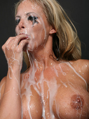 Amazing looking blonde receives the biggest cum - XXXonXXX - Pic 8