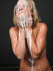 Amazing looking blonde receives the biggest cum - XXXonXXX - Pic 11