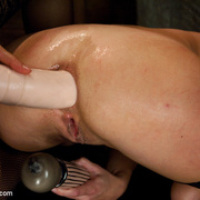 Anal Fisting and huge toys for a gaping - XXX Dessert - Picture 11