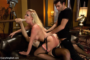 Kinky anal sex and hard punishment, doub - XXX Dessert - Picture 13