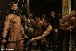 A throng of hungry free xxxgay men are destroying that damned one in the heaviest way! - XXXonXXX - Pic 5
