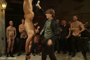 A throng of hungry free xxxgay men are destroying that damned one in the heaviest way! - XXXonXXX - Pic 7
