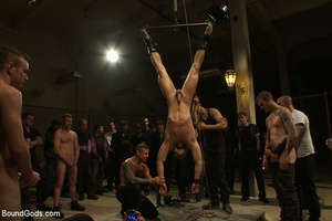 A throng of hungry free xxxgay men are destroying that damned one in the heaviest way! - XXXonXXX - Pic 10