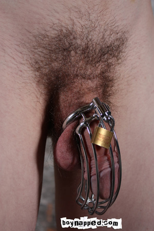 Getting his thing enchained in some gay xxx jail - XXXonXXX - Pic 2