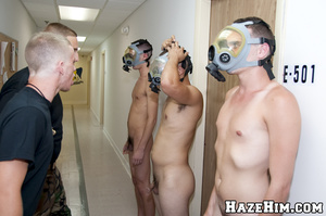 Putting porno gay masks for providing blowjob and all that petting… - XXXonXXX - Pic 2