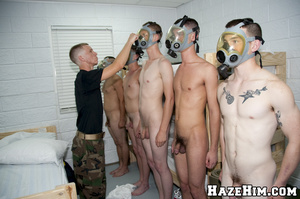 Putting porno gay masks for providing blowjob and all that petting… - XXXonXXX - Pic 7