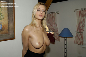 Elegant tall babe Jane in crotchless pan - XXX Dessert - Picture 14