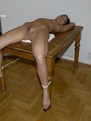 bondage table star erotic