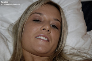 18 yo blonde Sandra in panties wet of pu - XXX Dessert - Picture 11
