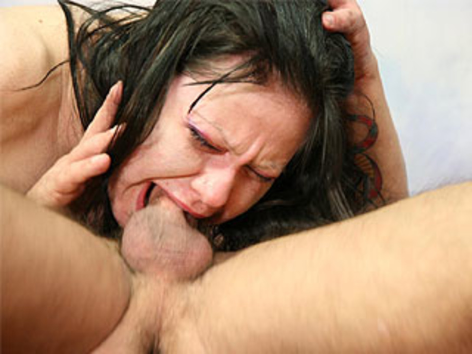 Rough Deep Throat Gag