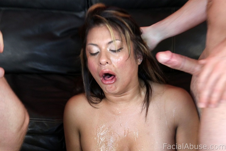 April loves getting facefucked and deepthroat 7