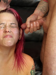 We fucked her face nice and - XXX Dessert - Picture 13