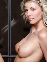 Blonde gal in striped lingerie pounding - XXX Dessert - Picture 6