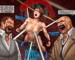 Enslaved toon chicks get their twats - BDSM Art Collection - Pic 4