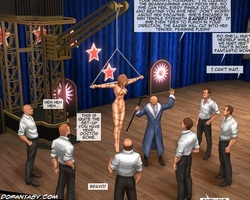 Enslaved toon chicks get their twats - BDSM Art Collection - Pic 5