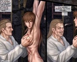 Two totally naked white chicks - BDSM Art Collection - Pic 3