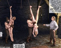 Two totally naked white chicks - BDSM Art Collection - Pic 4