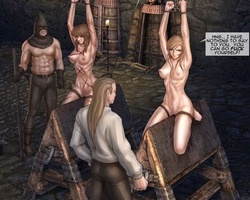Two totally naked white chicks - BDSM Art Collection - Pic 5