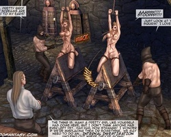 Two totally naked white chicks - BDSM Art Collection - Pic 6