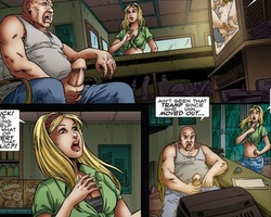 Awesome bdsm art pics of cute blonde - BDSM Art Collection - Pic 1