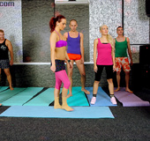 Gym visitors can't ctand their sexual desire after…