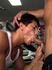 Coach and trainee are enjoying a super active gay - XXXonXXX - Pic 9