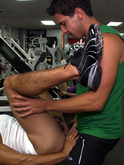 Coach and trainee are enjoying a super active gay - XXXonXXX - Pic 11