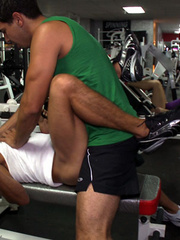 Coach and trainee are enjoying a super active gay - XXXonXXX - Pic 12