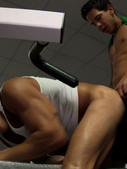 Coach and trainee are enjoying a super active gay - XXXonXXX - Pic 13