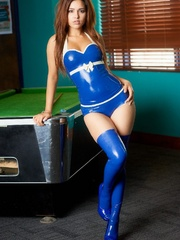 Some latina latex clothing fairies - Sexy Women in Lingerie - Picture 3