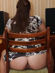 Beautiful face brunette girlfriend - Sexy Women in Lingerie - Picture 4