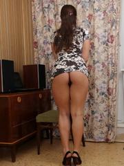 Beautiful face brunette girlfriend - Sexy Women in Lingerie - Picture 5