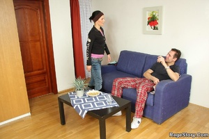 The punishment sex shows his girlfriend  - XXX Dessert - Picture 17