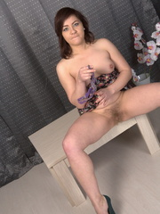 Plump amateur with bushy snatch - Sexy Women in Lingerie - Picture 3
