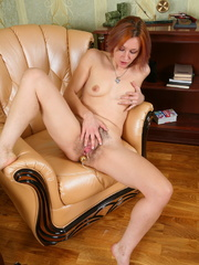 Undressing redhead hottie using - Sexy Women in Lingerie - Picture 16