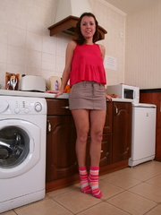 Perfect body brunette girlfriend - Sexy Women in Lingerie - Picture 1