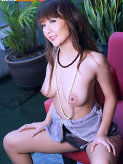 Xxx hot pics of lusty asian cutie moves aside her - XXXonXXX - Pic 3