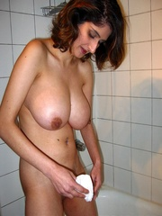 Shaving her dearest and most sensual xxx body - XXXonXXX - Pic 13