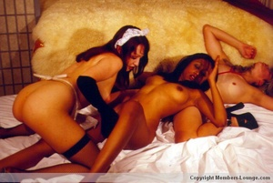 Three brown Indian sex jadeites and one mother fucker for all three of them - XXXonXXX - Pic 15
