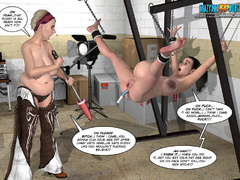 Horny 3d guy can't stand his desire and licking - Picture 4