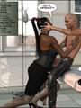 3d nasty bald guy seduced older ebony - Picture 7